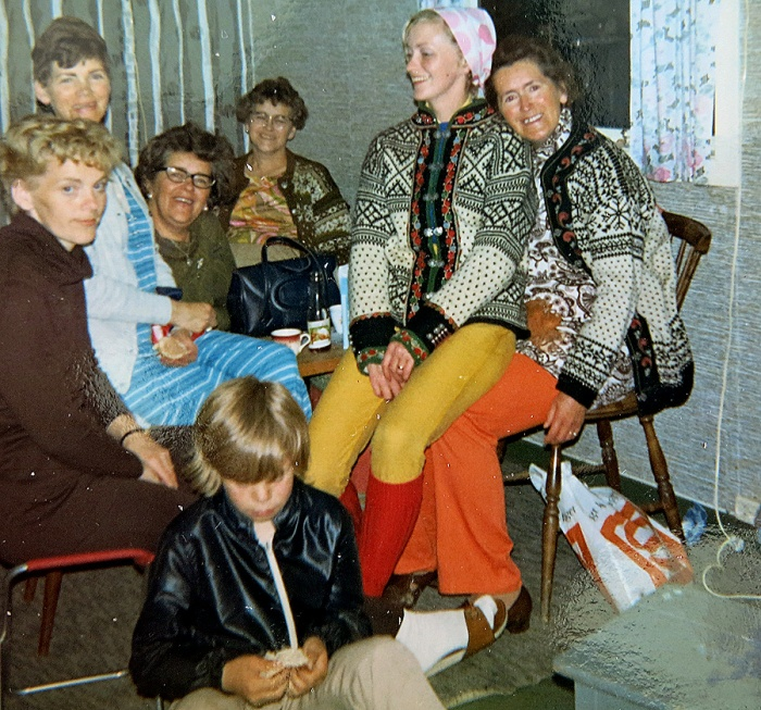 Norwegian family of David J Rodger 1970s