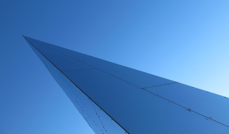 Travel photo Narvik Norway Space Wing Asymmetry and Geometry