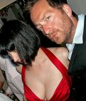 2009 - Miss Scarlett and David J Rodger in the Murder Mystery Dinner Party Game -Murder At Sharky Point