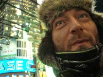 2010 - Djr - in Manhattan after launch of Dog Eat Dog - happy - unbelievably happy
