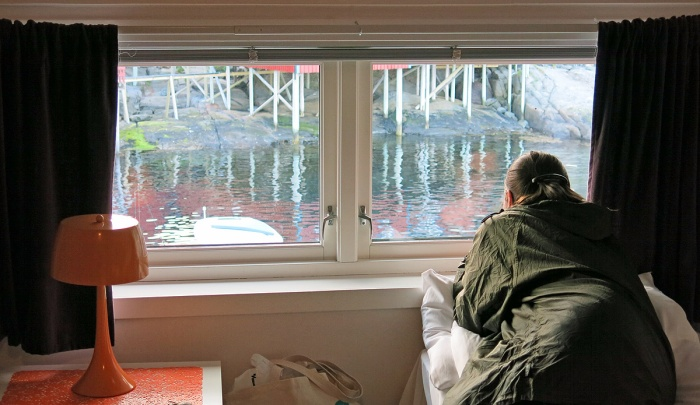 Accommodation in Rorbuer og Brygga Restaurant  travel photo arctic circle  Norway - image copyright David J Rodger