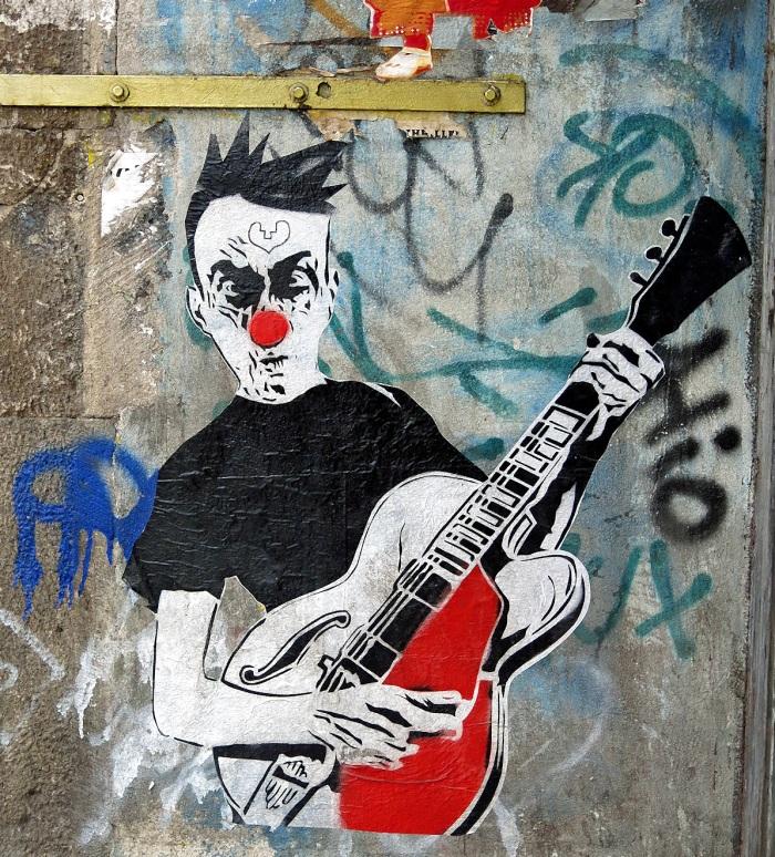 Berlin - Mitte - Graffiti on Oranienburger