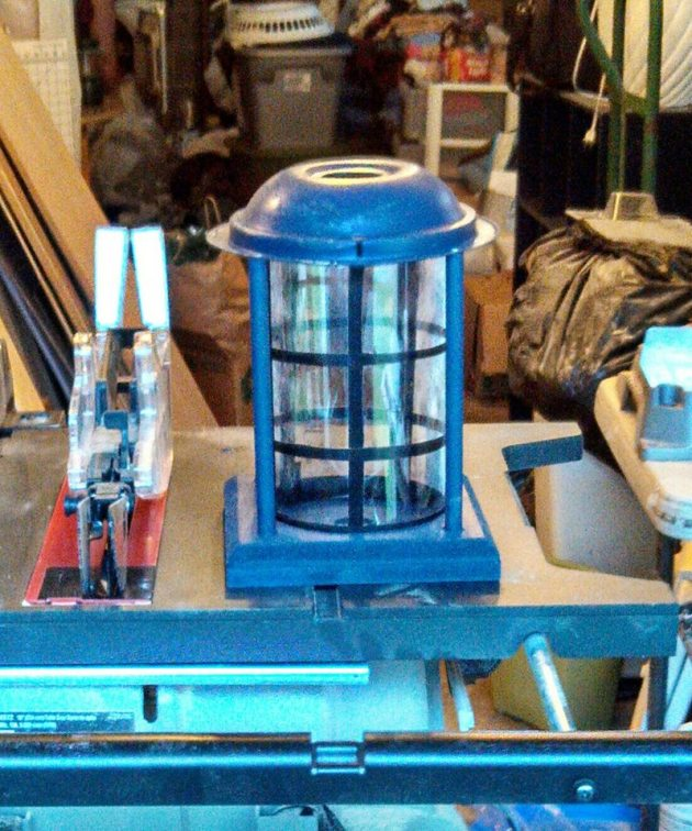 Build the roof light - DIY home made Tardis - Police Call Box - built by Major Sebastian Perry