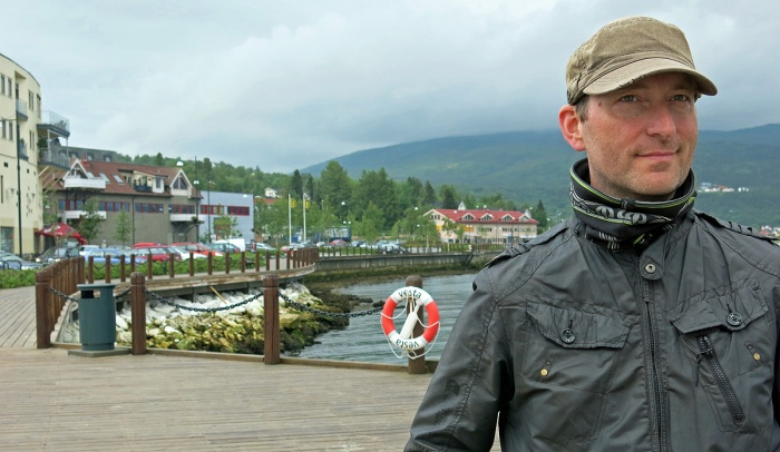 David J Rodger in Fauske arctic circle  Norway