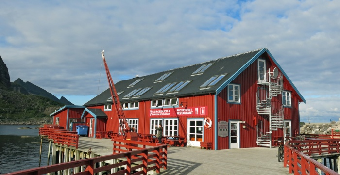 Rorbuer og Brygga Restaurant  travel photo arctic circle  Norway - image copyright David J Rodger