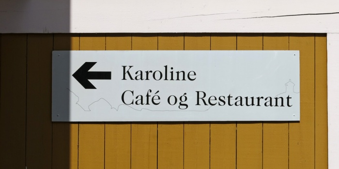 travel photo arctic circle  Norway - Karoline Cafe - Nusfjord - image copyright David J Rodger
