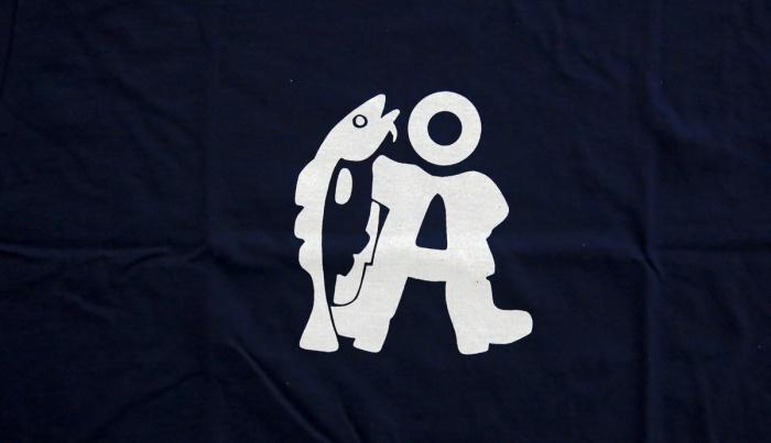 travel photo arctic circle  Norway - tourist T-shirt and cool fish logo for Å - image copyright David J Rodger