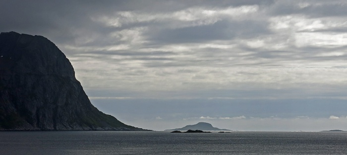 Travel photo - leaving Gryllfjord into the open sea