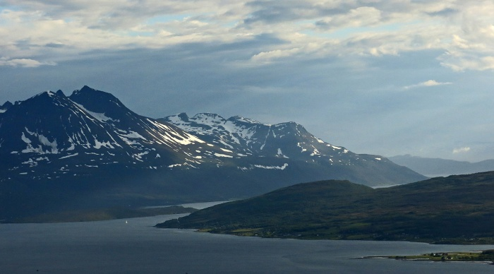 Travel photo Norway - Tromsø - view from  Mount Fløya copyright David J Rodger