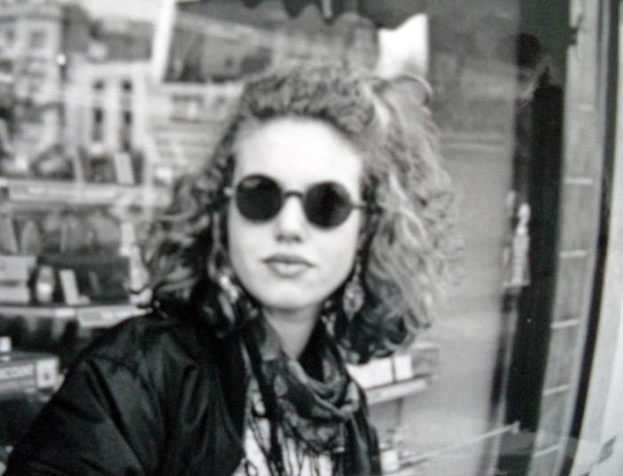 English UK fashion 1991 early ninetees - club culture x-static Papillons Bristol