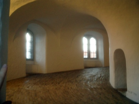 Travel photo - Copenhagen - Inside Round Tower Observatory