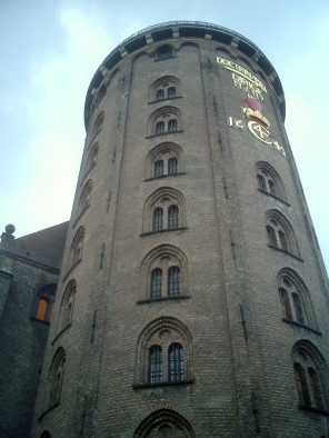 Travel photo - Copenhagen -outside Round Tower Observatory
