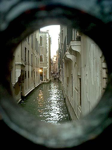 Travel Photo Venice Italy Copyright David J Rodger - Canal View