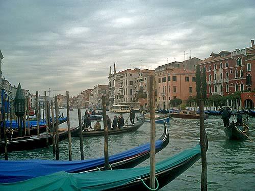 Travel Photo Venice Italy Copyright David J Rodger - Gondolas