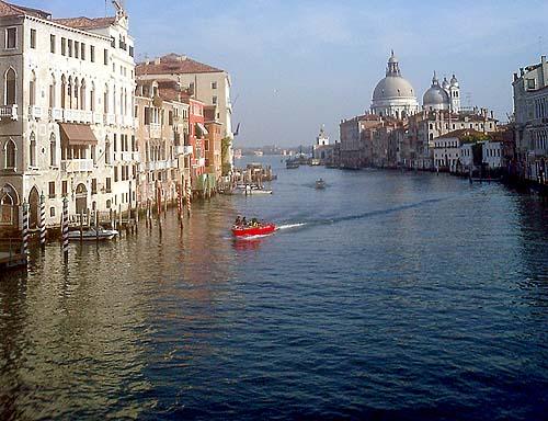 Travel Photo Venice Italy Copyright David J Rodger - The Grand Canal and Santa Maria della Salute