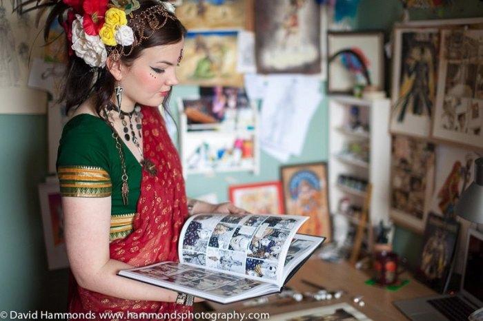 Jennie Gyllblad - Swedish-born artist and designer based in Bath comic books illustration to tattoo design
