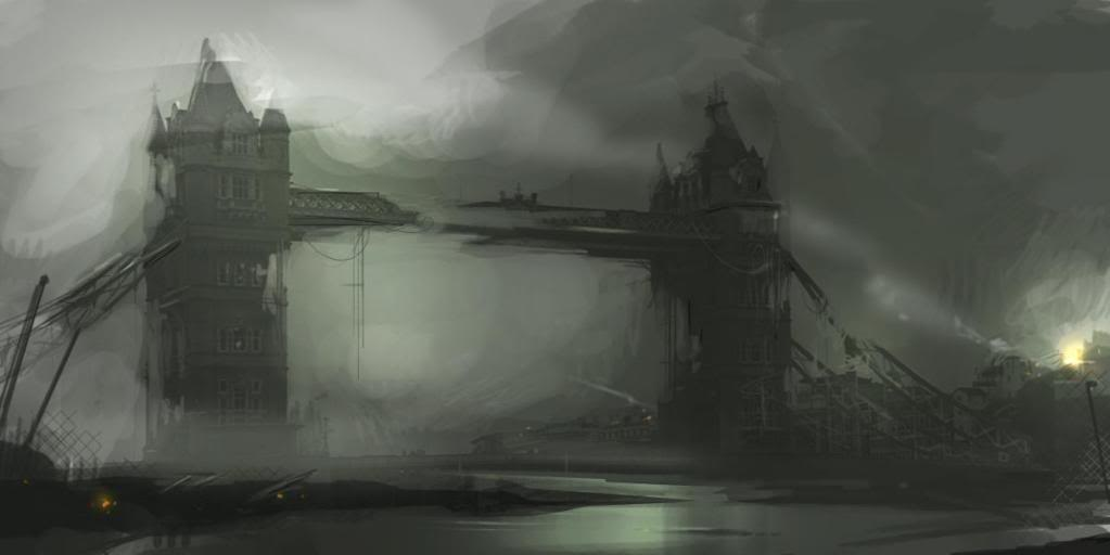 post-apocalyptic London image by Matthew Bowman all rights reserved