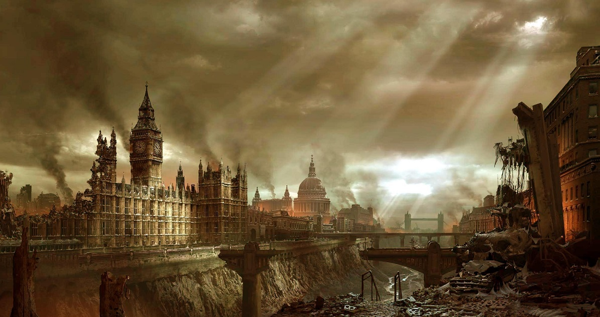 Post-Apocalyptic London - source unknown please advise and I will credit