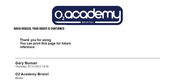 Gary Numan at Bristol Academy November 7th Splinter Tour