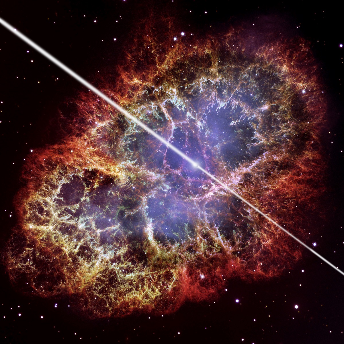 image of a Pulsar that might reveal lost cities of the Cthulhu Mythos