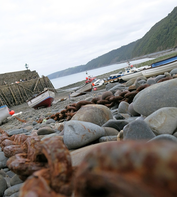 Travel Photo England Devon  David J Rodger - Clovelly Harbour