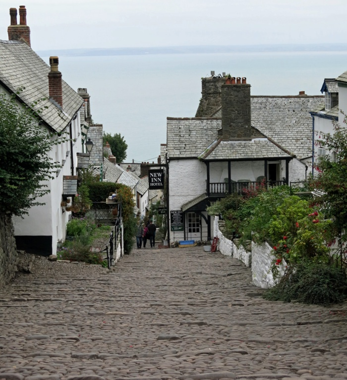 Travel Photo England Devon Ilfracombe by David J Rodger - Clovelly