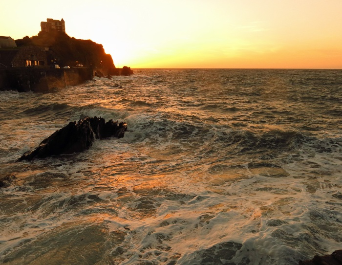 Travel Photo England Devon Ilfracombe by David J Rodger - Fantastic sunset on stormy sea