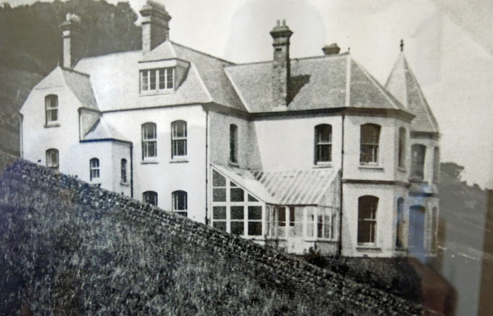 Travel Photo England Devon Ilfracombe by David J Rodger - Wildercombe House  how it used to look before the war
