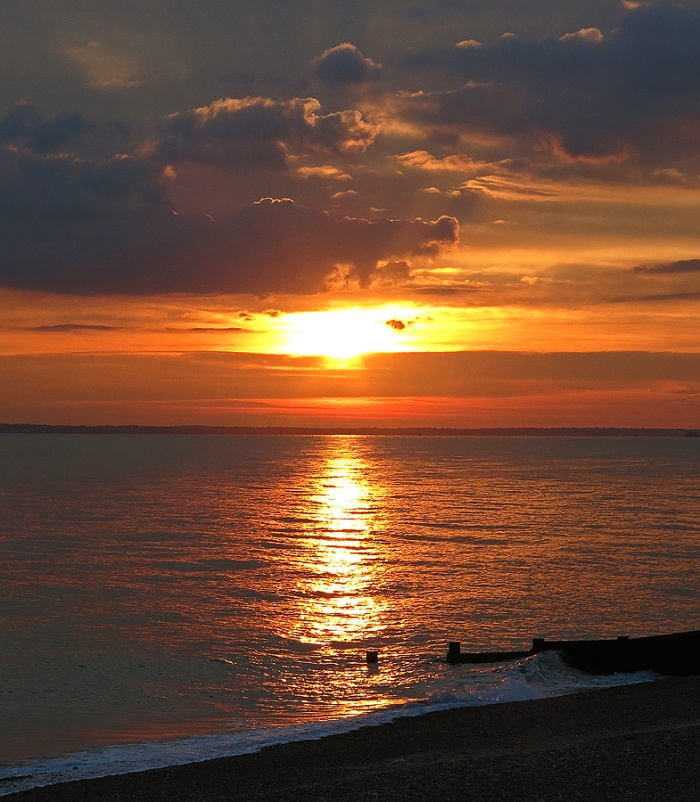 Travel Photo England Hayling Island Coastal Retreat by David J Rodger - incredible sunset