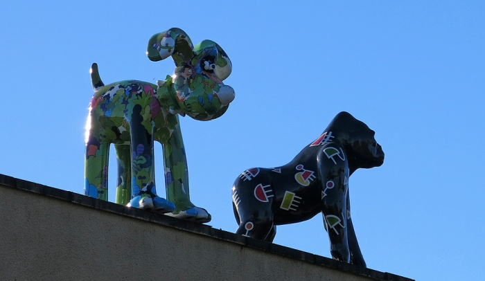 The fate of Gromit - Feeder Road Bristol