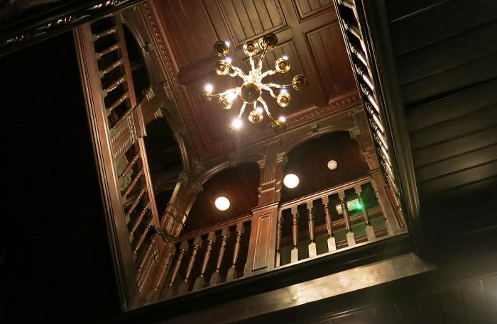 Milk Thistle Bristol England - Main staircase