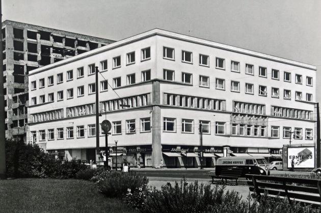 Berlin - Europahaus on Stresemannstraße 1960s