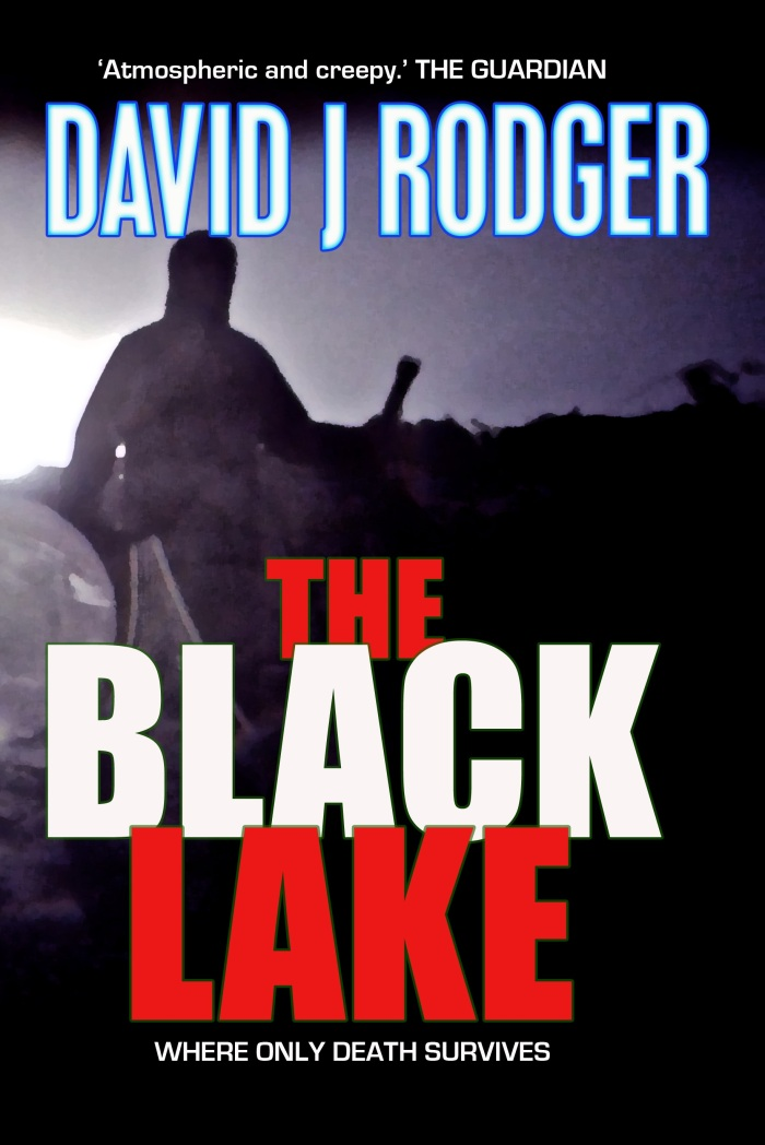 The Black Lake by David J Rodger a science fiction dark fantasy horror story that blends post-apocalypse with Cthulhu Mythos