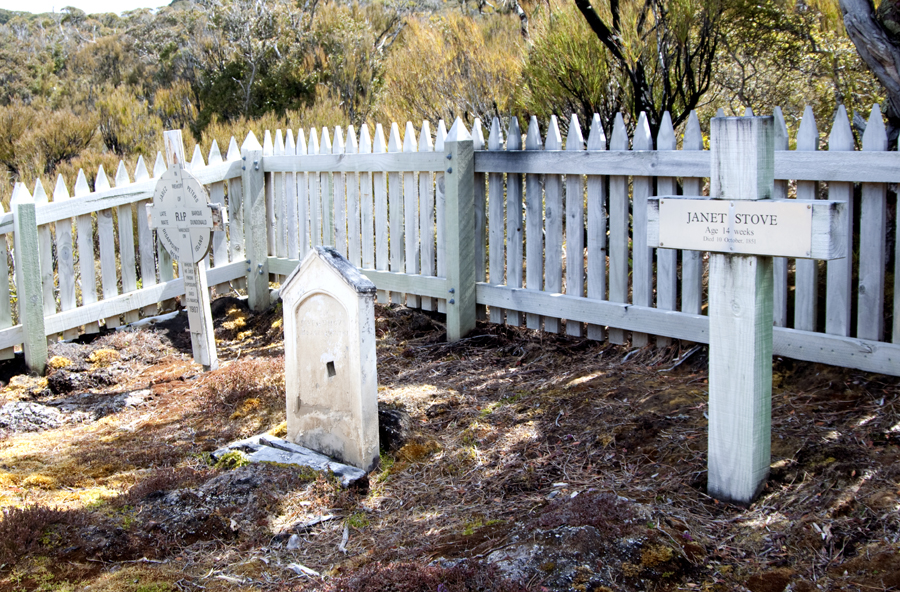 small rural cemetery