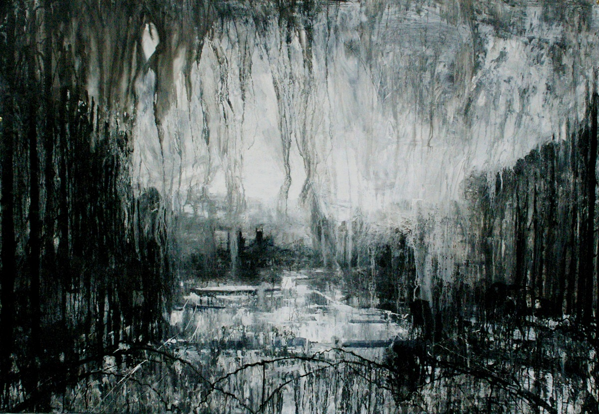 Towards St Stythian by Phil Whiting - Art in Cornwall - Horror based in Cornwall