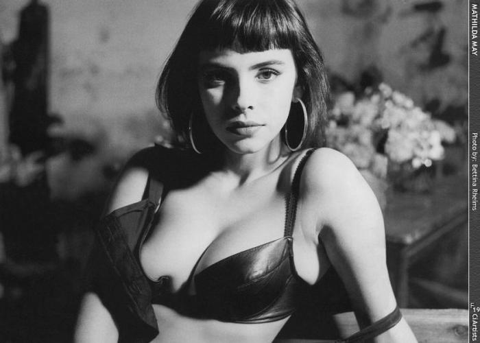 Mathilda May actress who was in Lifeforce 1985 - photo by bettina rheims all rights reserved