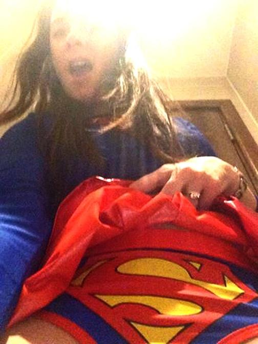 Revealed - the secret side of Supergirl