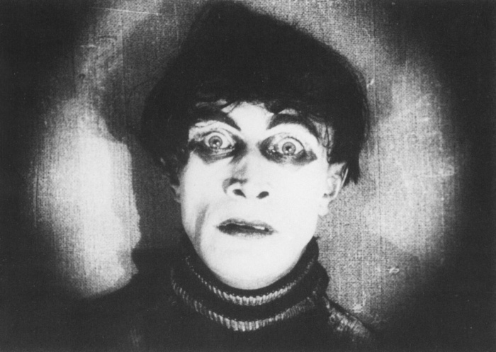 Sleepwalking Cesare – Conrad Veidt in Cabinet of Dr Caligari