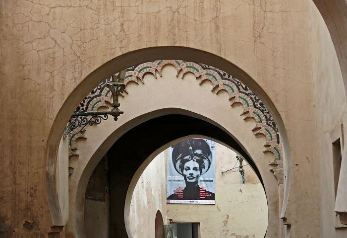 archways in Marrakech David J Rodger
