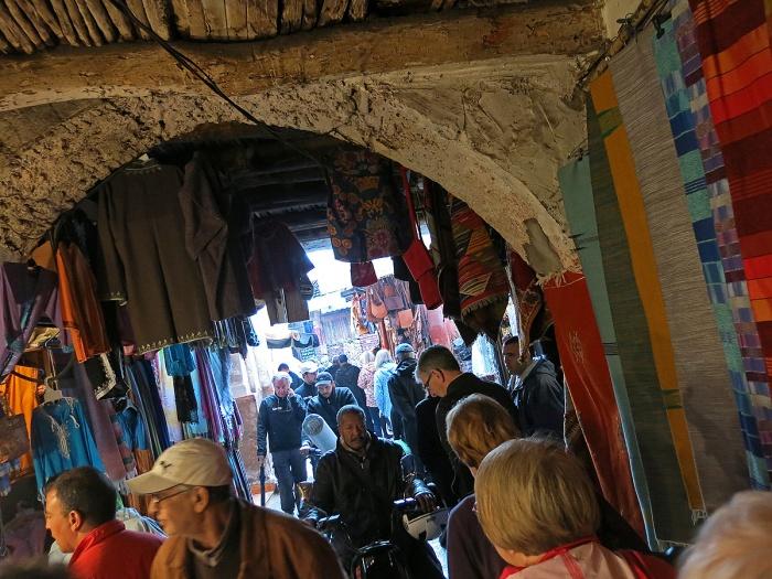 Marrakech souk - archway