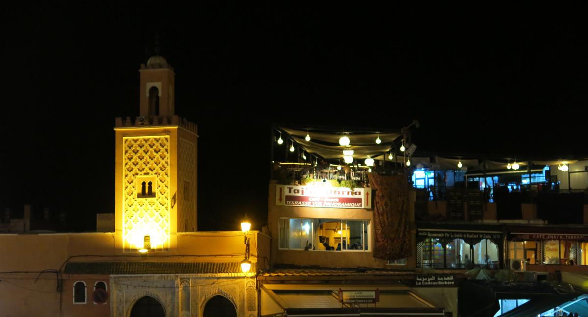 Morocco Marrakech Jemaa el-Fnaa David J Rodger