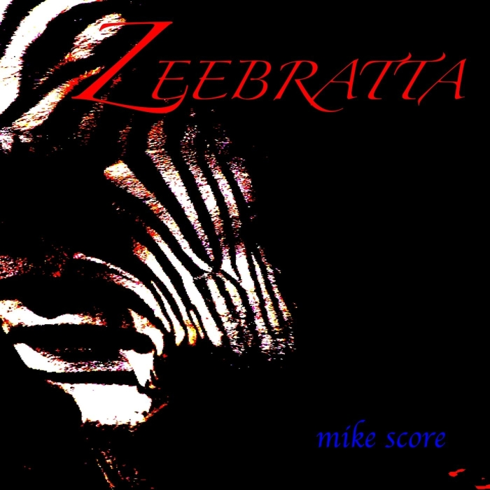 Zeebratta album cover 2014 by Mike Score former legends of early 80s synth pop Flock of Seagulls