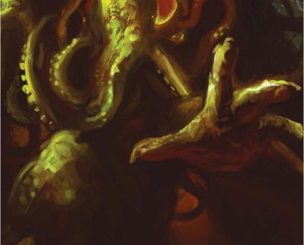 Artwork from Cthulhu Dark Fantasy, Horror & Supernatural Movies (Gothic Dreams) - All Rights Reserved