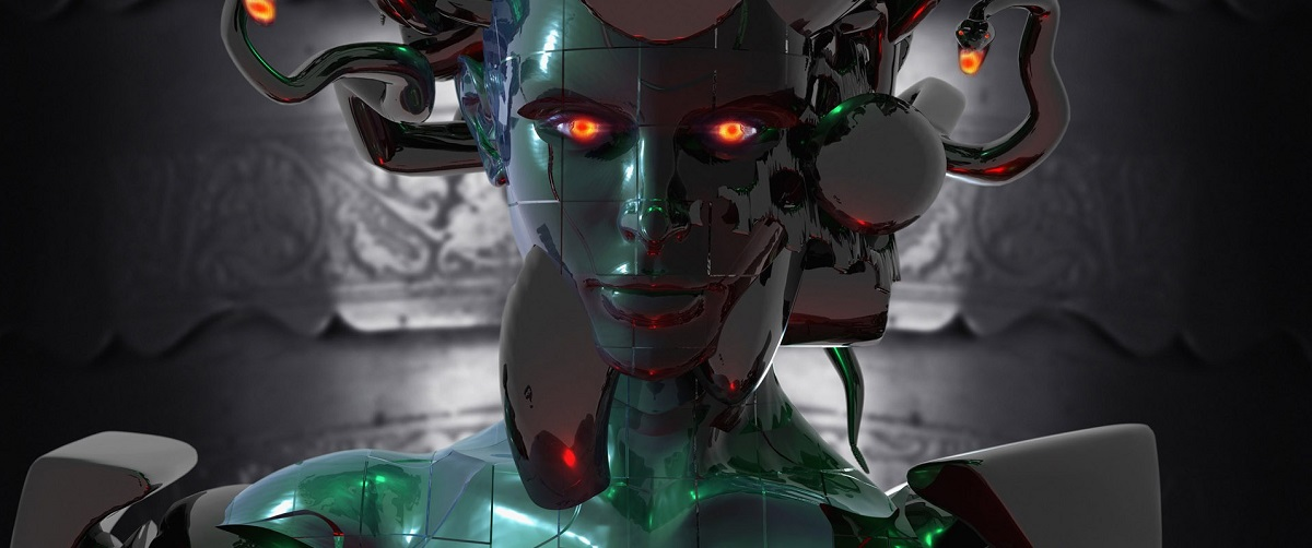 cyberpunk full cyborg conversion or humanoid robot