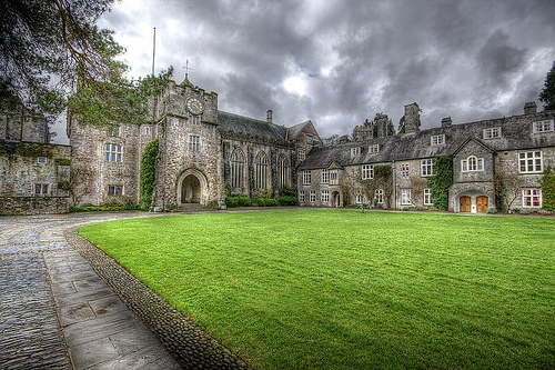 Dartington Hall - Devon England - perfect location for Call of Cthulhu or Murder Mystery Game - image Fiona Ward