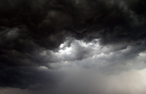 image of moody sky