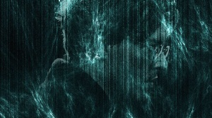 johnny depp in science fiction cyberpunk movie Transcendence (2014) wallpaper