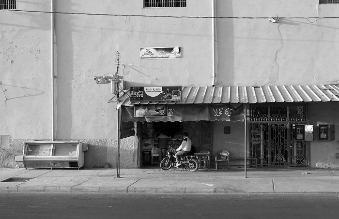 Morocco, Marrakech, quiet day at the shop