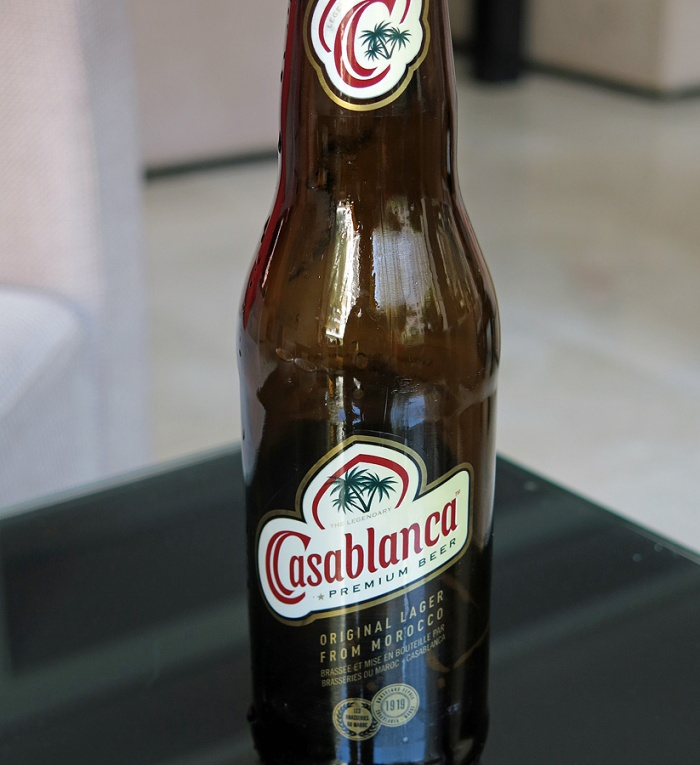 Premium lager from Morocco  - Casablanca