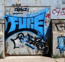 street art graffiti - Salamanca Spain - FURE